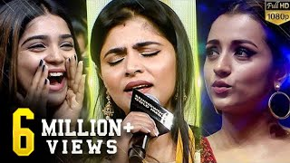 Chinmayi 39 s Live Kadhale Kadhale Soulful Singing Both Jaanu 39 s Reaction