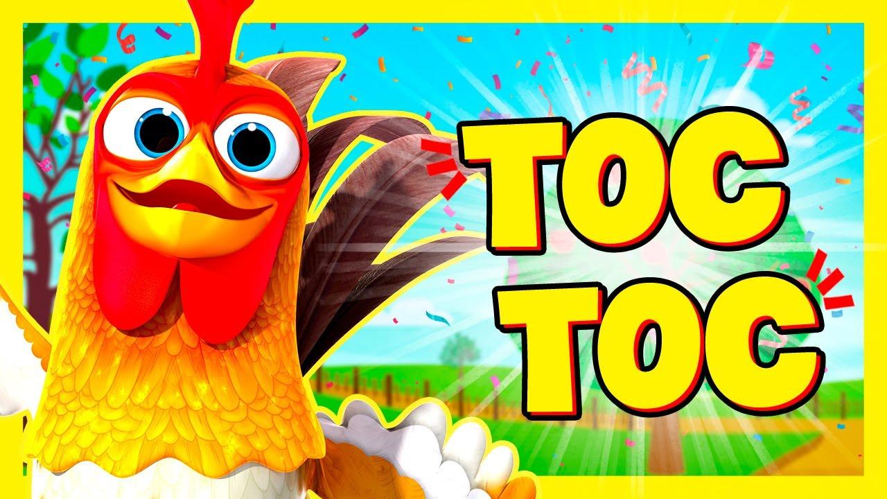 TOC TOC ¡Aprende los Colores con los de Animales de La Granja! | A Jugar
