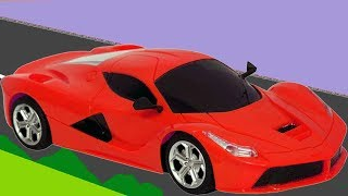 Cars For Kids - Colors for Children to Learn with Toy Super Cars  - Cartoon Color Cars For Kids