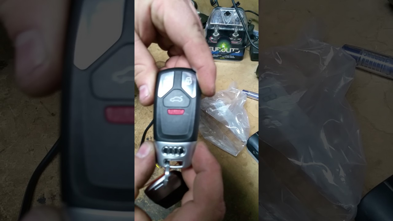 How To Replace Battery On 2017 Audi Keyfob Youtube