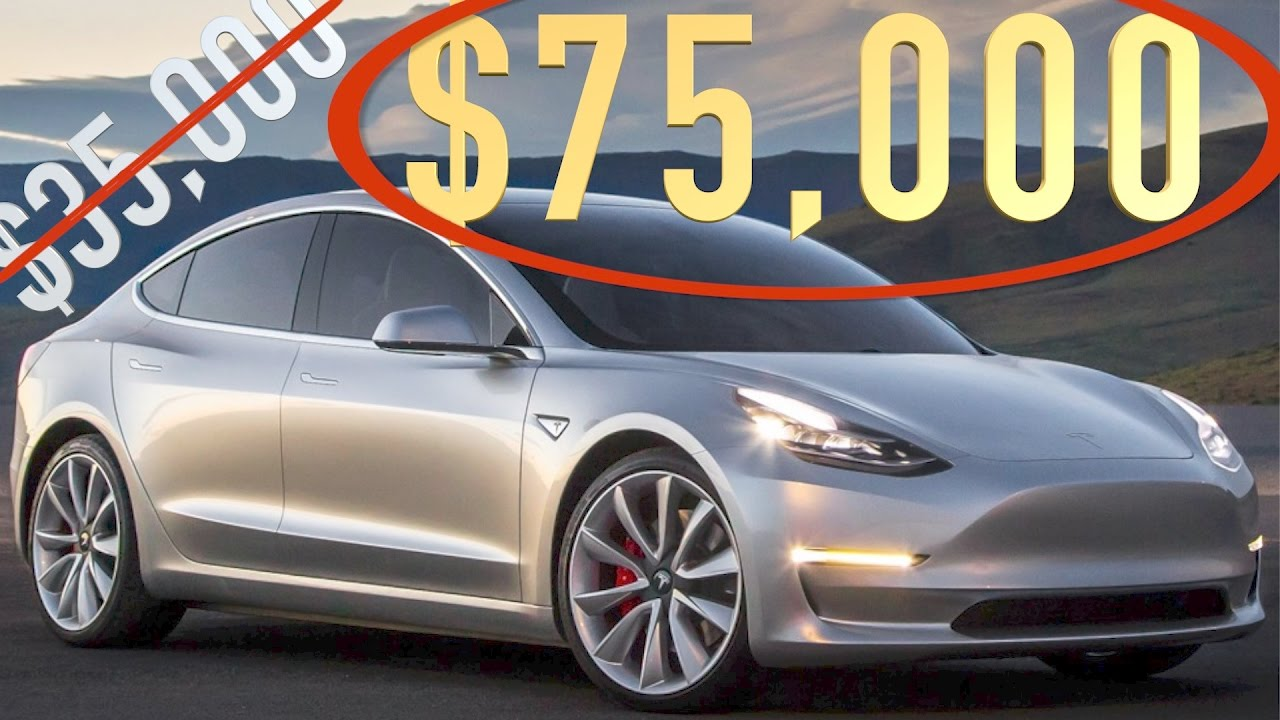 tesla model 3 options pricing youtube. Black Bedroom Furniture Sets. Home Design Ideas