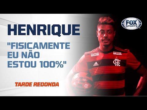 """FALA CRAQUE! Bruno Henrique em coletiva após """"estreia dos sonhos"""""""