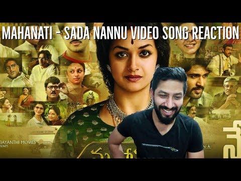 Sada Nannu Video Song Reaction | Mahanati | Keerthy Suresh | Dulquer | Fun Mania