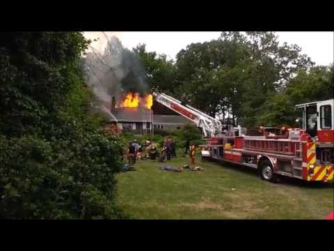 Hockessin House Fire Neptune Drive 5 24 17
