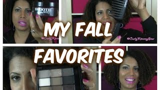 My Favorite Fall Products!  |  CurlyKimmyStar Thumbnail