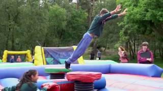 Broadstone Warren activity centre scouts day: scout campsite East Sussex scouts guides & the public