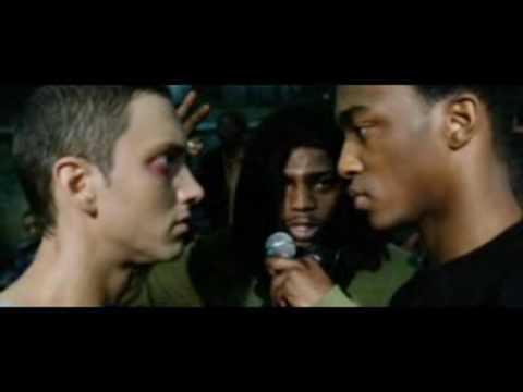 Eminem - B-rabbit Vs Papa Doc (freestyle From 8 Mile) lyrics