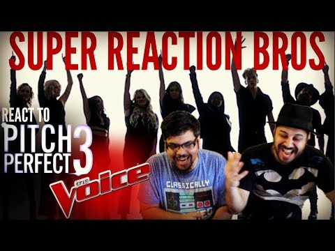 SRB Reacts to Pitch Perfect 3 x The Voice...