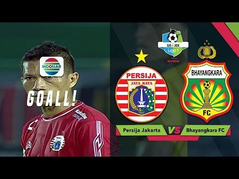 Goal Ismed Sofyan - Persija Jakarta (1) vs Bhayangkara FC (0) | GoJek Liga 1 bersama Bukalapak Mp3