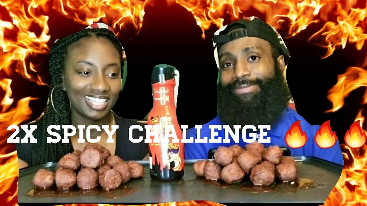 Download 20 2X SPICY MEATBALL CHALLENGE | BY THE PR GANG | THE GREEDY COUPLE | 2020