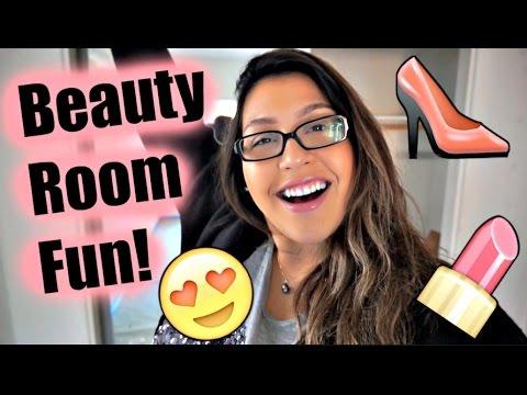 Beauty Room Fun + Moving!