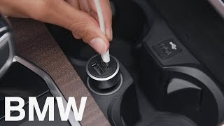How to charge electronic devices in your BMW – BMW How-To