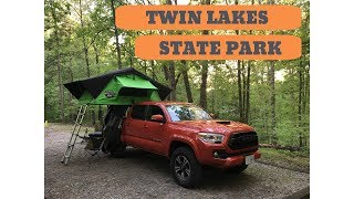 Camping and Adventuring aт Twin Lakes State Park in Virginia with our CVT Roof Top Tent