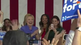 بالفيديو.. اعرف كيف يدعم نجوم هوليود المرشحين لخلافة أوباما