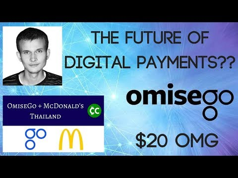 $20USD OmiseGo (OMG) | The Future Of Digital Payments