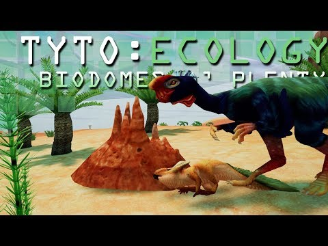 A Riot of Raptors!! 🌋 TYTO: ECOLOGY: Biodomes o' Plenty! - Cretaceous Mongolia