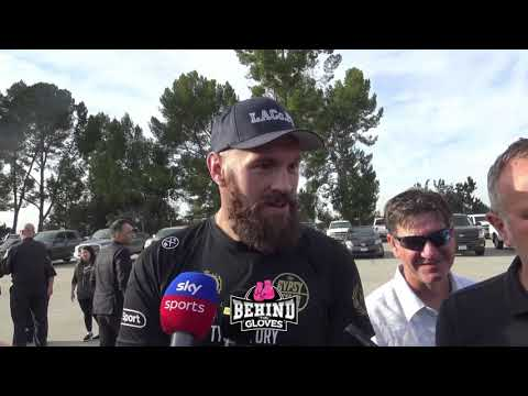 [MUST SEE!] TYSON FURY REVEALS WHAT CRISIS SITUATION HAS OPENED HIS EYES BEING IN CALIFORNIA