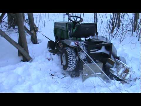Homemade Ski Snowboard Rope Tow Youtube