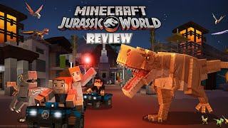 Minecraft: Jurassic World DLC (Switch) Review (Video Game Video Review)
