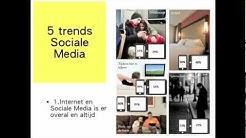 Social media tips en trends voor kleine bedrijven.