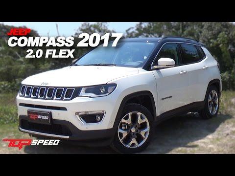 Avaliação Compass 2017 2.0 Flex | Canal Top Speed