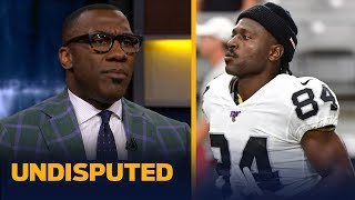 Antonio Brown's antics are 'only going to get worse' with Raiders- Shannon Sharpe | NFL | UNDISPUTED