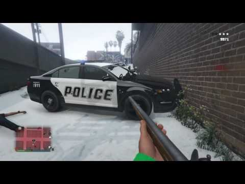 GTA V All Weapons In First Person Mode
