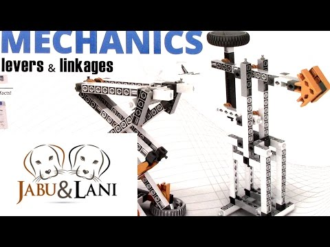Ep 17 Engino Discovering STEM Mechanics Levers & Linkages 16 Models To Build