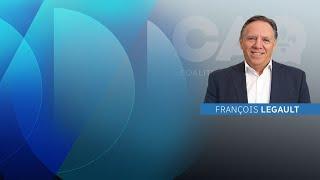 COVID-19 au Québec :  entrevue avec François Legault