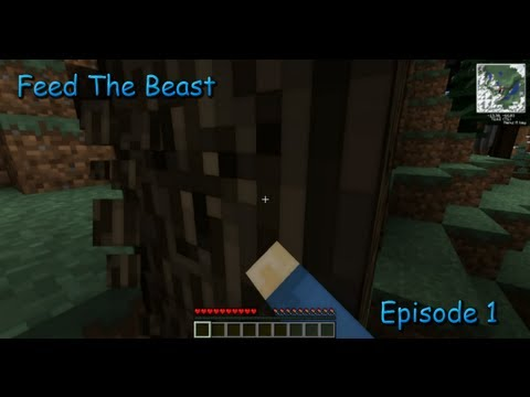 Season 1 - Episode 1 - Feed The Beast 1.4.2 Let's Play