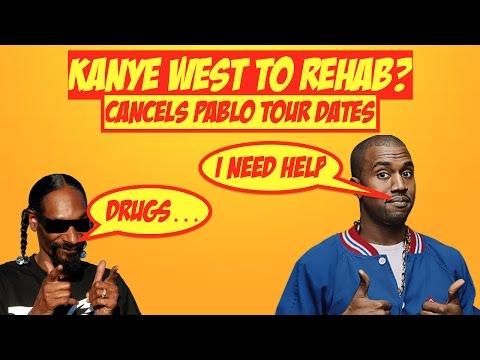 Kanye West Goes in to Rehab. Cancels Remaining 21 Tour Dates. | JordanTowerNews