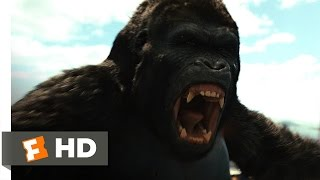 Rise of the Planet of the Apes (2011) - Gorilla vs. Helicopter Scene (5/5) | Movieclips
