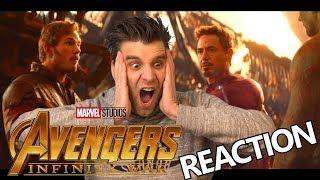 Avengers - INFINITY WAR - OFFICIAL TRAILER | REACTIE!!