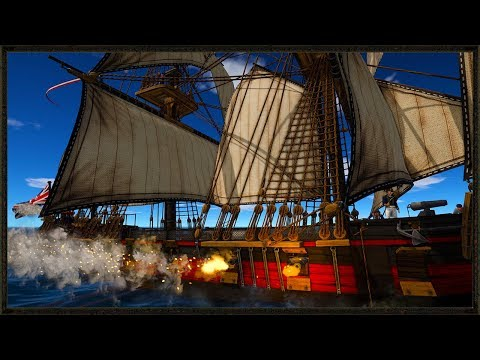 British Vs French ship Combat - Holdfast: Nations At War Gameplay
