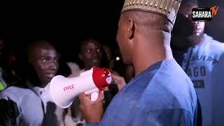 #HurricaneSowore Arrives In Daura Vows To Retire Baba Buhari