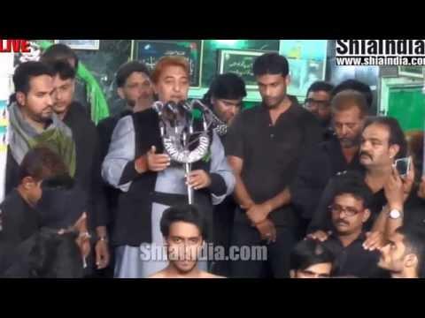 28th Muharram Anjuman e Masoomeen Matam at Qila 1437 2015 16