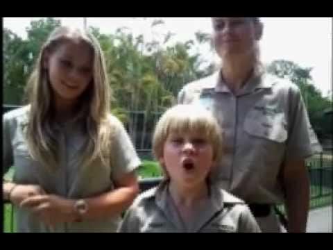 Bindi Robert Irwin Charlie The Crocodile The