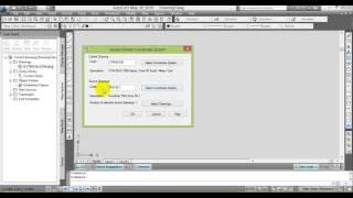 Cara Transformasi Koordinat Menggunakan AutoCAD Map 3D