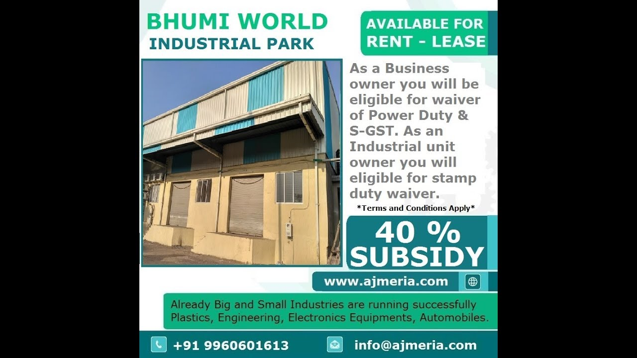 421 302 Bhiwandi Industrial Business Space Factory and warehouse rental in  India