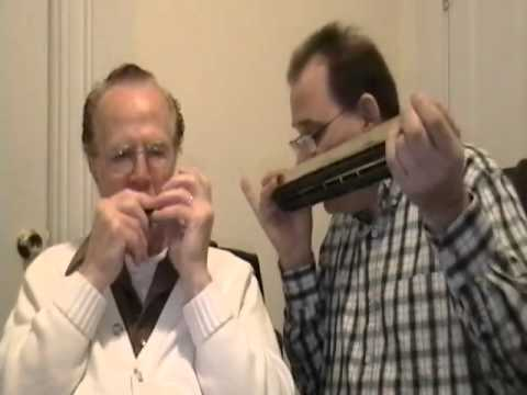 Jim and Walter playing- Begin the Beguine Chromatic and Chord