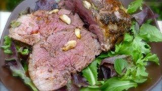Easy Dinner Recipes - Roast Lamb With Garlic And Rosemary Recipe