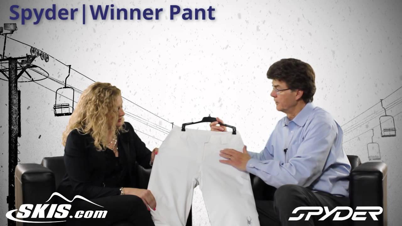 2015 Spyder Winner Womens Pant Overview by SkisDOTcom
