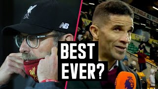 "David James calls this side the ""best Liverpool team he's ever seen"" 