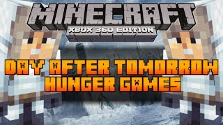 Minecraft (Xbox 360) The Hunger Games Map: Day After Tomorrow [Download In Description]