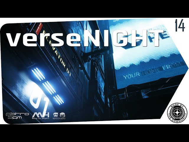 verseNIGHT | StarCitizen Talk mit AstroSam & Mitch van Hayden (German/Deutsch 11.02.2020)