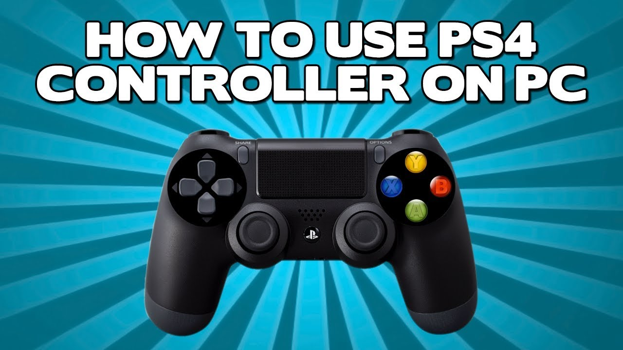 how to use a ps4 controller on pc windows 7