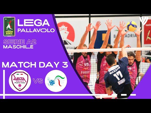 LIVE 🔴 Porto Viro vs. Mondovi - Men's Serie A2 | 2021