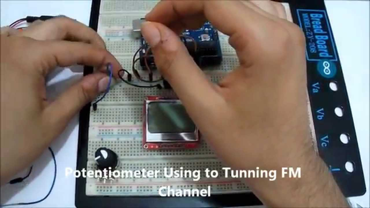 build your FM radio transmission station with arduino