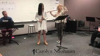 Jeanne Galway Flute Masterclass, Carolyn Nussbaum Music Company