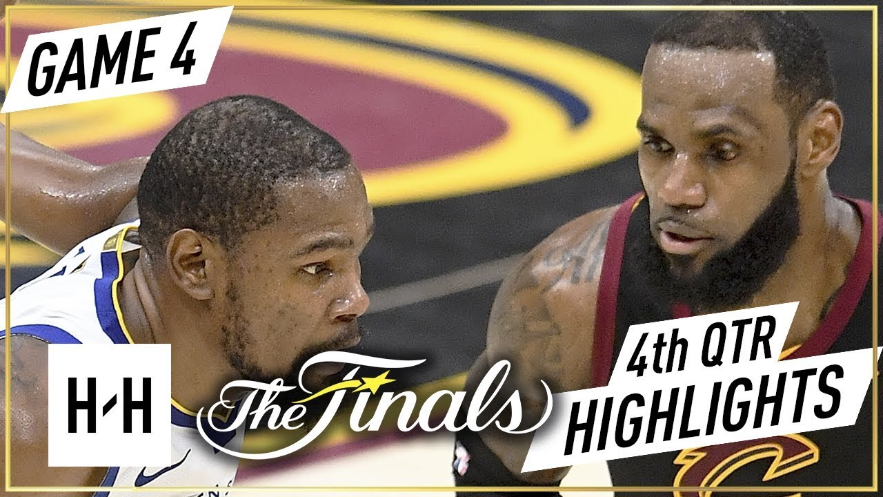 Golden State Warriors vs Cleveland Cavaliers vs - Game 3 - 4th Qtr Highlights | 2018 NBA Finals